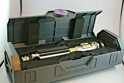 NEW Mace Windu Legacy Lightsaber Hilt Disney Star Wars GALAXY's EDGE SOLD OUT