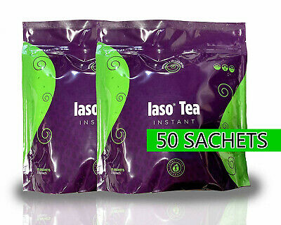 TLC Iaso Tea Instant Natural Detox Weight Loss 50 Sachets - Faster Delivery