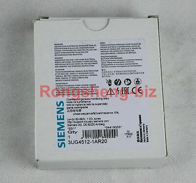 1PC New In Box SIEMENS 3UG4512-1AR20 Monitoring Relay