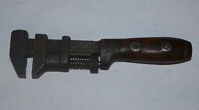 "RARE Antique Winchester 8 1/2 "" No. 1001 Adjustable Coes Style Nut Monkey Wrench"