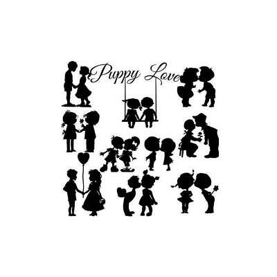 Lovers Metal Cutting Dies Stencil DIY Album Paper Embossing Craft Decor R1S6