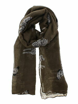 Zac/'s Alter Ego Long Lightweight Love Peace /& Heart Print on Scarf Happiness
