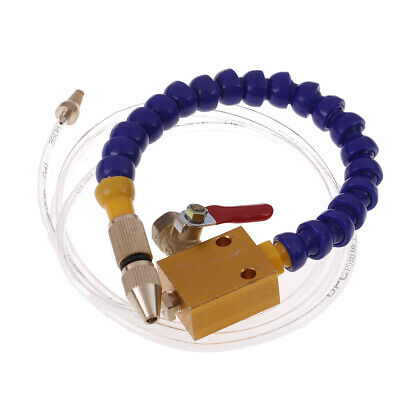 Mist Coolant Lubrication Spray System For 8mm Air Pipe CNC Lathe Mill Drill✔~*