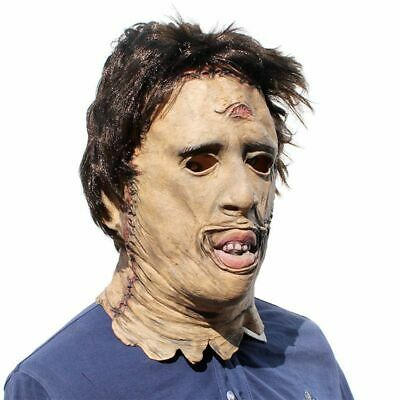 2019 Texas Chainsaw Massacre Leatherface Masks Scary Adult Horror Mask Cosplay