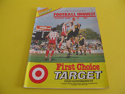 South Australian Football Inquest 1983 32 pages