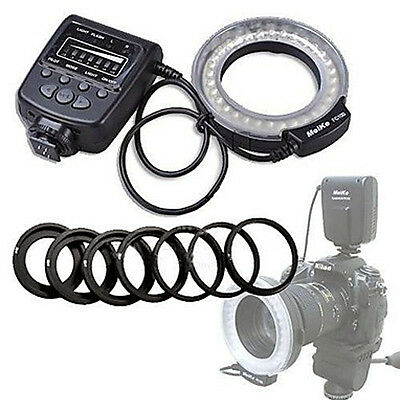 Meike FC-100 LED Macro Ring Flash Light For Canon Nikon Olympus Panasonic Pentax