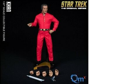 QMx  Star Trek TOS Khan Collectible Action Figure 1/6 Scale New