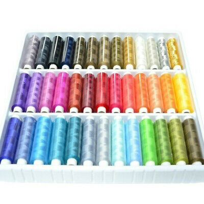 Assorted Colour Spools Cotton Threads For Hand Sewing Machine