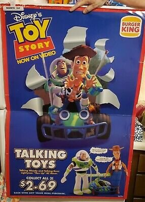 Burger King Poster (Toy Story Themed)