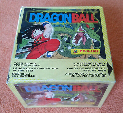 Panini  Dragon Ball  Boite Box /  neuve blister . new sealed . édition 1986