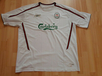 LFC Liverpool 2003 2005 Reebok Away Shirt Jersey Football The Reds England