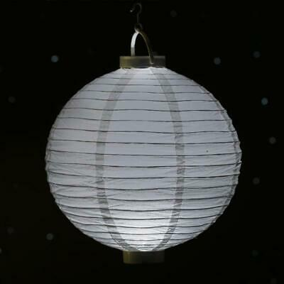 "12 pcs 8/"" wide PAPER LANTERNS with LED Lights Wedding Reception Decorations"