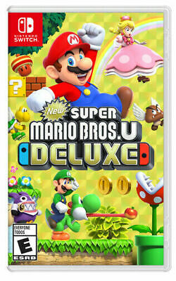 Super Mario Bros. U Deluxe (Nintendo Switch, 2019) (8840-SM57)