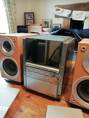 Panasonic SA PM18 5 CD hifi system