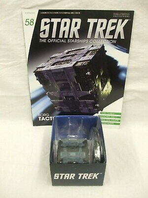 Eaglemoss Collections Borg Tactical Cube & Magazine  58 ( Pre-owned )