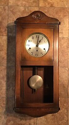Large Wall Clock Case (for Repair Or Spares)