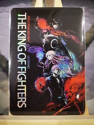 The King Of Fighters KOF Prism Cards 54/54 Completed + ex protection card