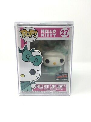 NYCC Comic Con 2019 Funko POP Hello Kitty #27 Limited Edition with Case