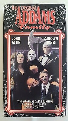 Halloween With The Original Addams Family Vhs John Astin Carolyn Jones Horror