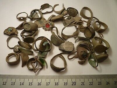 5638 Lot of 56 silver and bronze ancient Roman, Byzantine, Medieval, Late Mediev
