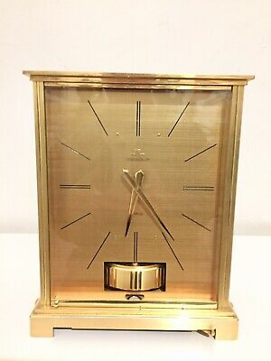 Vintage Jaeger LeCoultre Gold Embassy Atmos Clock Date: 20/10/1962 !