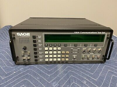 Used SAGE 930A Communications Test Set