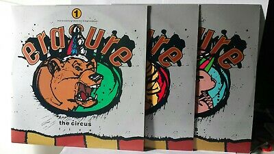 """Erasure The Circus Tour 1987 Live In Hamburg Collection 3 × 12"""" ☆ FREE FAST POST"""