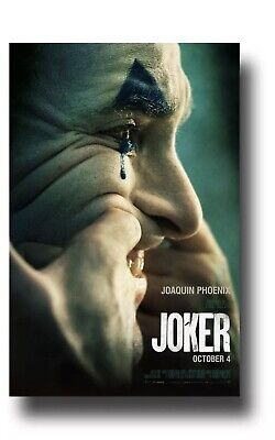 Joker Movie 2019 Joaquin Pheonix Cinemark XD Exclusive 11.5 x17 Poster