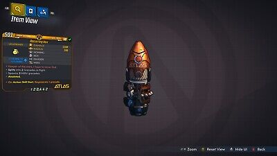 Borderlands 3 Recurring Hex Anointed LVL 50 GOD ROLL Grenade Mod XBOX ONE