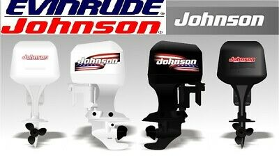 JOHNSON EVINRUDE 2hp-40hp 1973-1990 Outboard (Includes Electric Motors) Manual