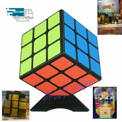 Kids Fun Toy Original Cube Magic  Mind Game Classic Puzzle 3x3 HUGE SALE!!!