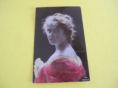 Glamour Lady Real Photo Postcard