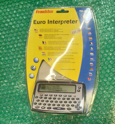 NEW (NOS) Franklin Euro Translator. Electronic.