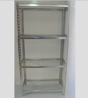 Coolroom Coldroom Shelving Stainless Steel Post Wire Shelves 2000H x 525W