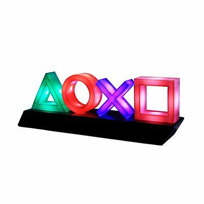 Paladone Playstation Icons Light with 3 Light Modes - Music Reactive Game Room