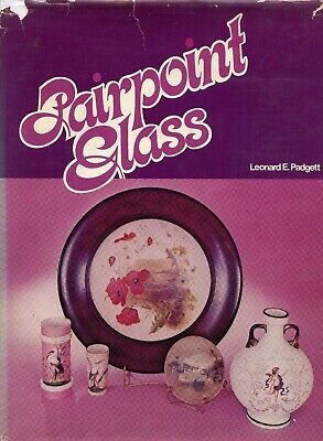 Mount Washington Pairpoint Gunderson Art Glass Types + Lamps / Scarce Book