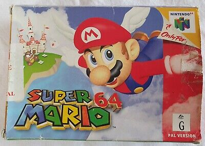 Super Mario 64 for Nintendo 64 Boxed with Instruction Book N64 PAL AUS Seller