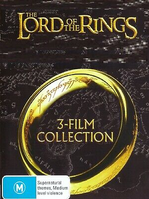 Lord Of The Rings 1,2,3 trilogy 6-disc DVD