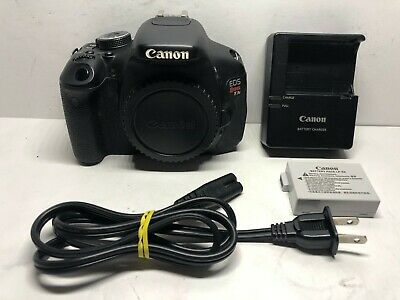 EXCELLENT Canon EOS Rebel T3i / EOS 600D 18.0MP DSLR - Black (Body Only) #2