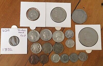 Bulk Lot Of American USA Coins 1800's And 1900's