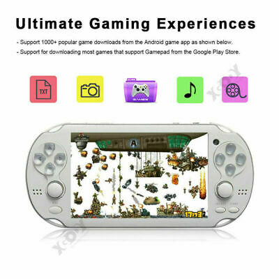 XGODY 5.1 inch 32 Bit 8GB Portable Free Built-In Games Handheld Console Player