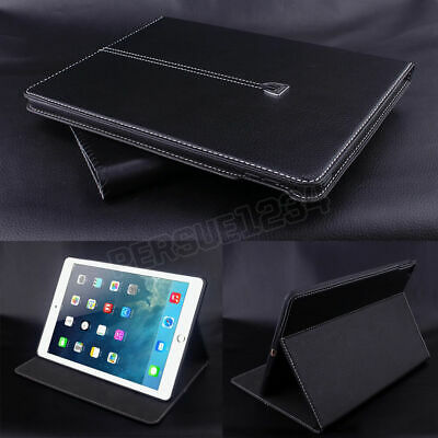 """Magnetic Smart Flip Cover Stand Wallet Genuin Leather Case For iPad 2 3 4 9.7"""""""