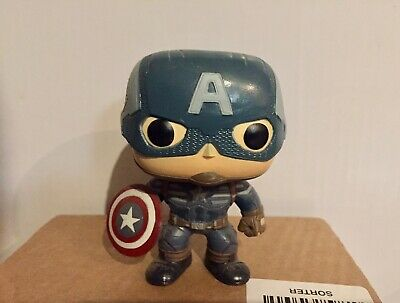 FUNKO POP MARVEL CAPTAIN AMERICA (Winter Soldier) Out Of Box