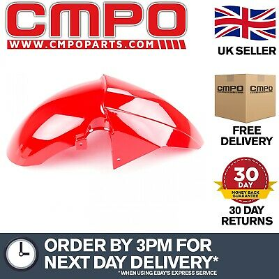 Red Mudguard (Front) for LJ125T-8M (MGRDF237) (#237)