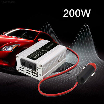 D3D6 Power Auto DC 12V Car To AC 220V 200W Solar Charger