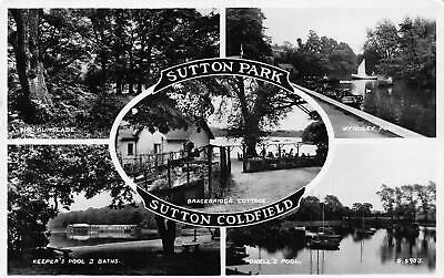 Sutton Park Coldfield Keeper's Pool Bath The Gumslade Powell Postcard