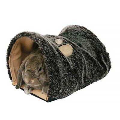 Rabbit Bed Snuggle Tunnel Guinea Pig Mouse Gerbil Hamster Keep Excited