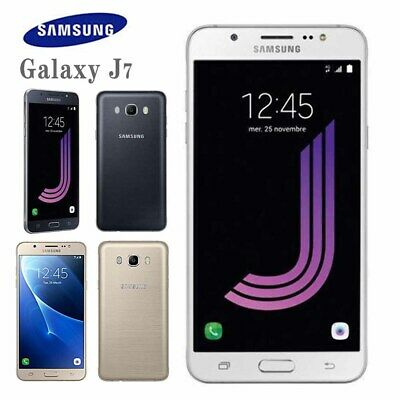 SAMSUNG Galaxy J7 J710F Dual SIM Android Phone Black White Gold Factory Unlocked