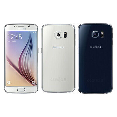 New Sealed Box Samsung Galaxy S6 G920F LTE 4G Mobile 32GB Factory Unlocked