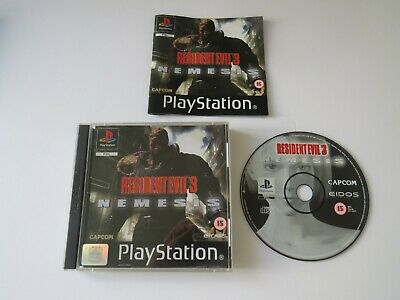 ps1 resident evil 3 complete